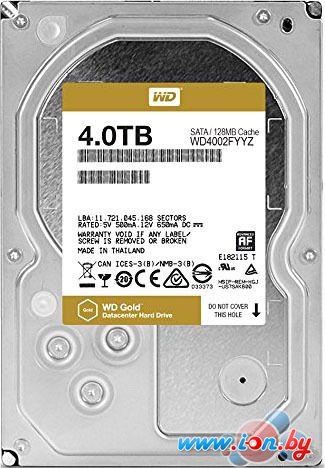 Жесткий диск WD WD Gold 4TB [WD4002FYYZ] в Могилёве