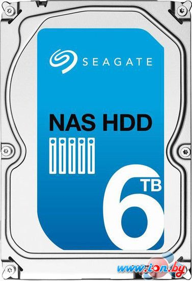 Жесткий диск Seagate NAS 6TB [ST6000VN0021] в Могилёве