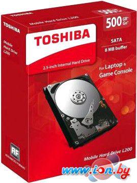 Жесткий диск Toshiba L200 Slim 500GB [HDWK105UZSVA] в Могилёве