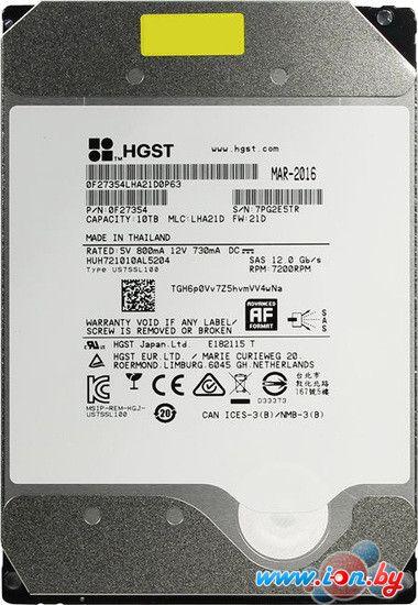 Жесткий диск HGST Ultrastar 10TB [HUH721010AL5204] в Могилёве