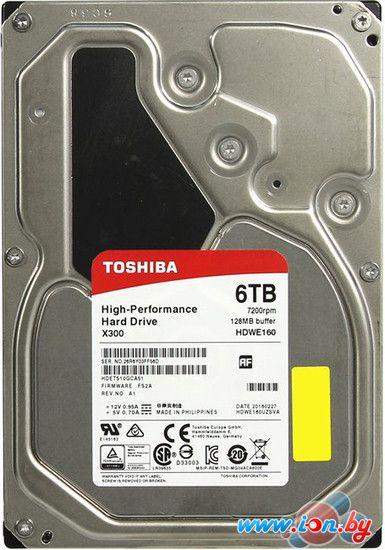 Жесткий диск Toshiba X300 6TB [HDWE160UZSVA] в Могилёве