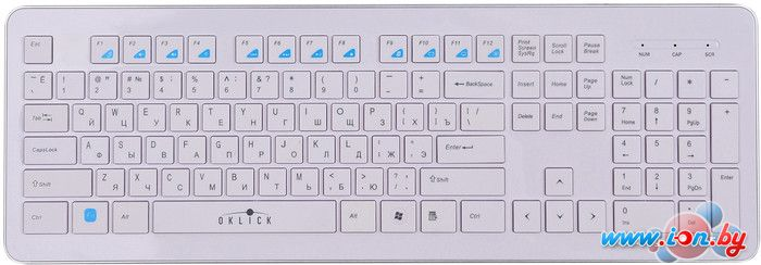 Клавиатура Oklick 540S White в Могилёве