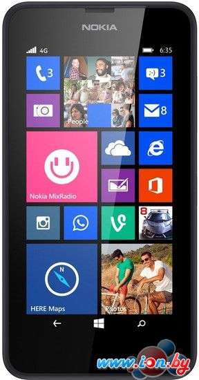 Смартфон Nokia Lumia 635 Black в Могилёве