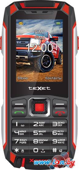 Мобильный телефон TeXet TM-515R Black/Red в Могилёве