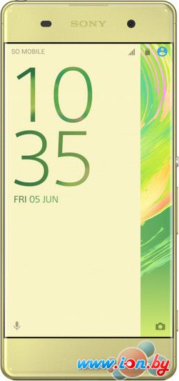Смартфон Sony Xperia XA Lime Gold в Могилёве