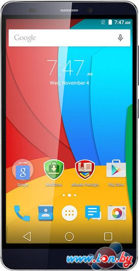 Смартфон Prestigio Grace S5 LTE Blue [PSP5551DUO] в Могилёве