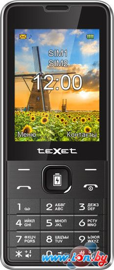 Мобильный телефон TeXet TM-D227 Black в Могилёве