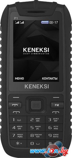 Мобильный телефон Keneksi P1 Black в Могилёве