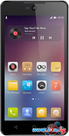 Смартфон Micromax Canvas Selfie 2 Black [Q340] в Могилёве