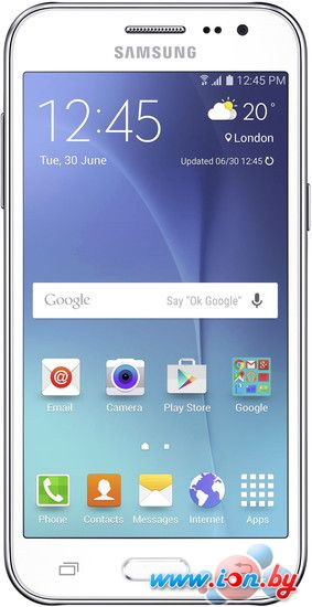 Смартфон Samsung Galaxy J2 White [J200H/DS] в Могилёве