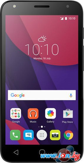 Смартфон Alcatel One Touch Pixi 4(5) Volcano Black [5010D] в Могилёве