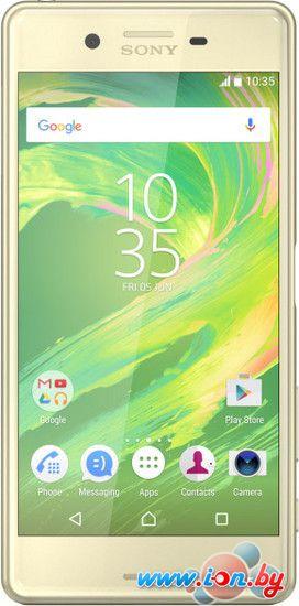 Смартфон Sony Xperia X Dual Lime Gold в Могилёве