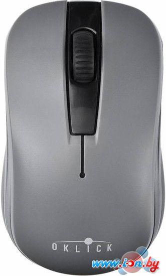 Мышь Oklick 445MW (серый) [945814] в Могилёве
