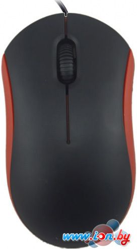 Мышь Ritmix ROM-111 (черный/красный) в Могилёве