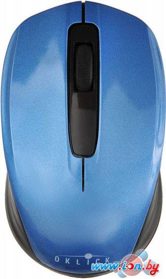 Мышь Oklick 475MW (голубой) [945833] в Могилёве