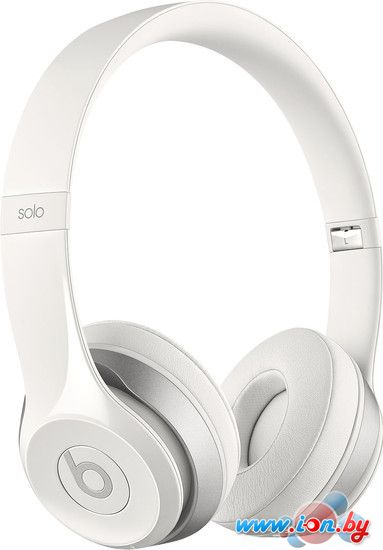 Наушники с микрофоном Beats Solo2 Wireless White в Могилёве