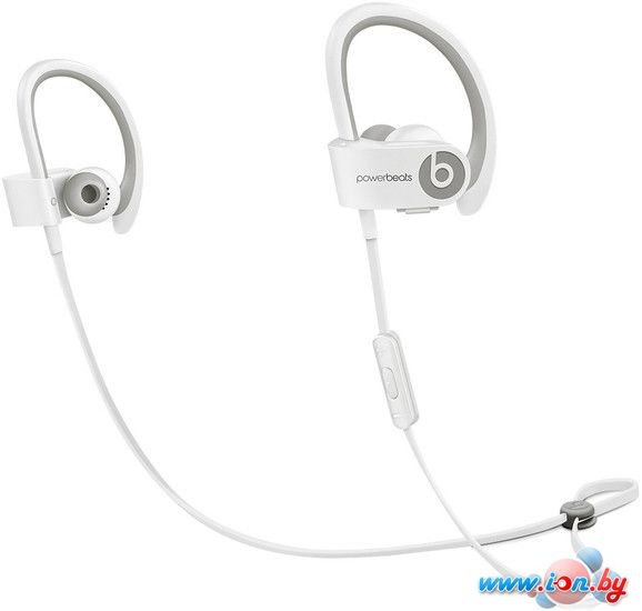 Наушники с микрофоном Beats Powerbeats2 Wireless (In-line White) [900-00245] в Могилёве