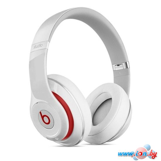 Наушники с микрофоном Beats Studio Wireless (белый) [MH8J2] в Могилёве