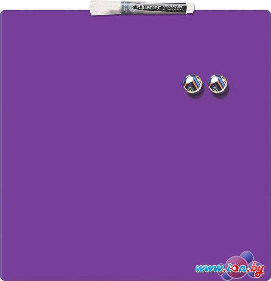 Магнитно-маркерная доска Nobo Quartet Rexel 360х360 фиолетовая [1903897] в Могилёве