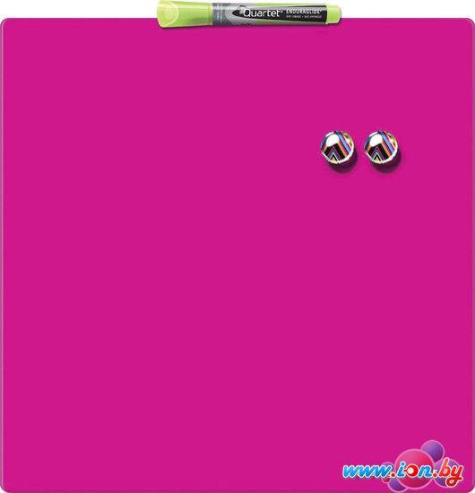 Магнитно-маркерная доска Nobo Quartet Rexel 360х360 розовая [1903803] в Могилёве