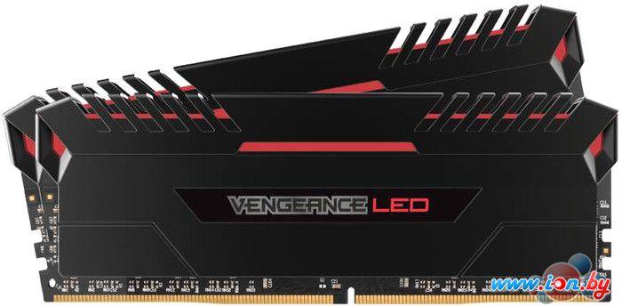 Оперативная память Corsair Vengeance LED 2x16GB DDR4 PC4-21300 [CMU32GX4M2A2666C16R] в Могилёве