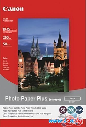Фотобумага Canon Photo Paper Plus Semi-Gloss SG-201 10x15 50 листов (1686B015) в Могилёве