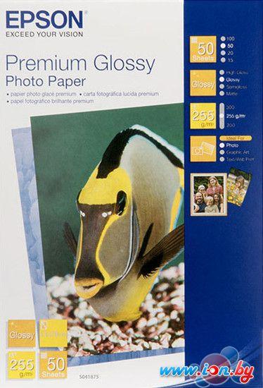 Фотобумага Epson Premium Glossy Photo Paper 13x18 50 листов (C13S041875) в Могилёве