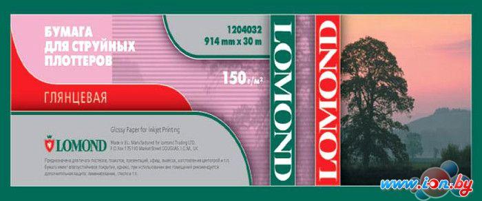 Фотобумага Lomond Глянцевая 1067 мм x 30 м 150 г/м2 [1204033] в Могилёве