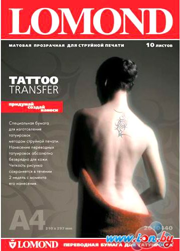 Термотрансфер Lomond Tattoo transfer (2010440) в Могилёве