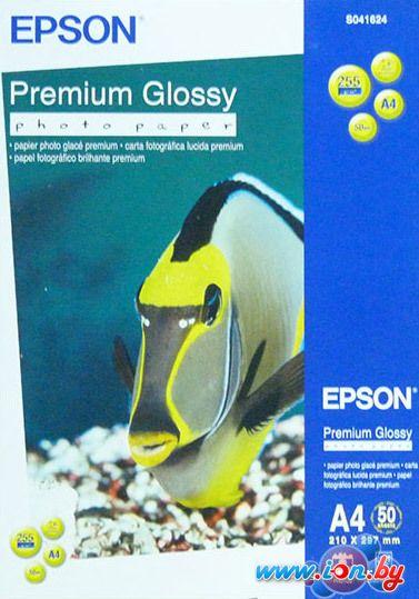 Фотобумага Epson Premium Glossy Photo Paper A4 50 листов (C13S041624) в Могилёве