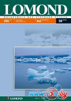 Фотобумага Lomond Матовая А4 205 г/кв.м. 50 листов (0102085) в Могилёве