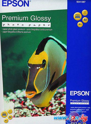 Фотобумага Epson Premium Glossy Photo Paper A4 20 листов (C13S041287) в Могилёве