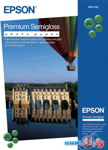 Фотобумага Epson Premium Semigloss Photo Paper A4 20 листов (C13S041332) в Могилёве