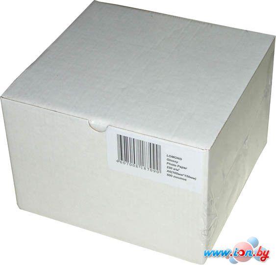 Фотобумага Lomond Суперглянцевая 10x15 295 г/кв.м. 500 листов (1108104) в Могилёве