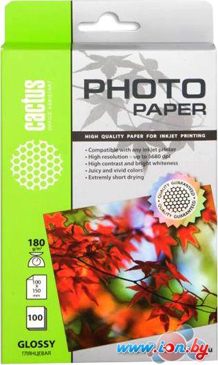 Фотобумага CACTUS Глянцевая A6 180 г/кв.м. 100 листов (CS-GA6180100) в Могилёве