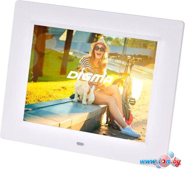 Цифровая фоторамка Digma PF-833 (белый) [PF833W] в Могилёве