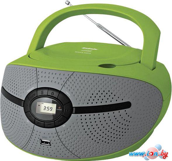 Портативная аудиосистема BBK BX195U (серый/зеленый) в Могилёве
