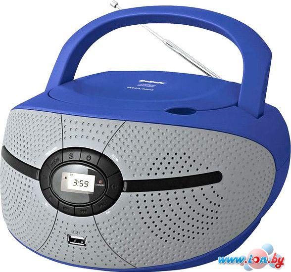 Портативная аудиосистема BBK BX195U (серый/синий) в Могилёве