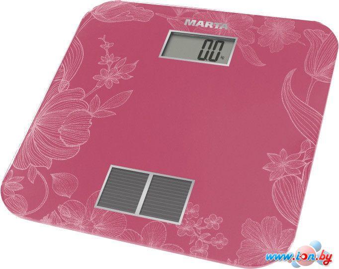 Напольные весы Marta MT-1663 (розовый) в Могилёве