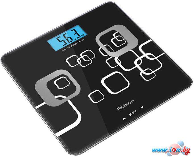 Напольные весы Rolsen RSL1807 (черный) в Могилёве