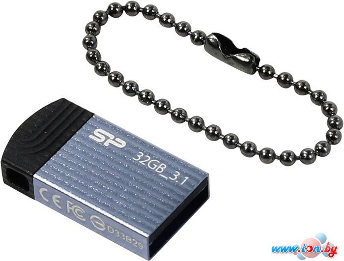 USB Flash Silicon-Power Jewel J20 32GB (синий) [SP032GBUF3J20V1B] в Могилёве