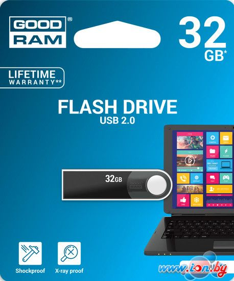 USB Flash GOODRAM URA2 32Gb [URA2-0320K0R11] в Могилёве