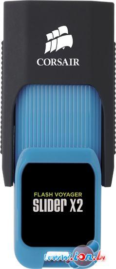 USB Flash Corsair Flash Voyager Slider X2 USB 3.0 16GB [CMFSL3X2-16GB] в Могилёве