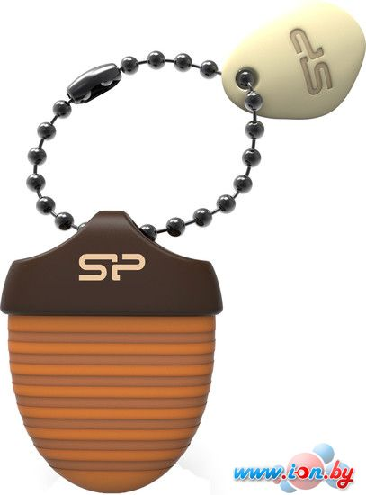USB Flash Silicon-Power Touch T30 16GB (коричневый) [SP016GBUF2T30V1E] в Могилёве