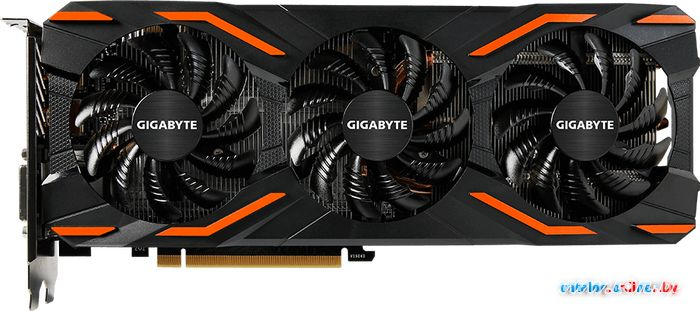 Видеокарта Gigabyte GeForce GTX 1080 Windforce OC 8GB GDDR5X [GV-N1080WF3OC-8GD] в Могилёве