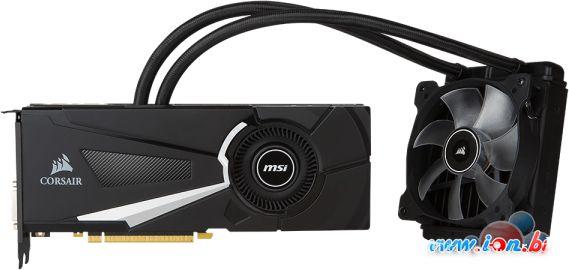 Видеокарта MSI GeForce GTX 1080 Sea Hawk X 8GB GDDR5X [GTX 1080 SEA HAWK X] в Могилёве