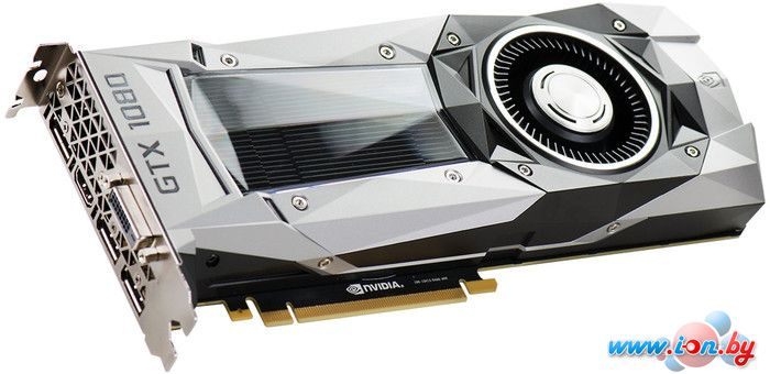 Видеокарта EVGA GeForce GTX 1080 FOUNDERS EDITION 8GB GDDR5X [08G-P4-6180-KR] в Могилёве