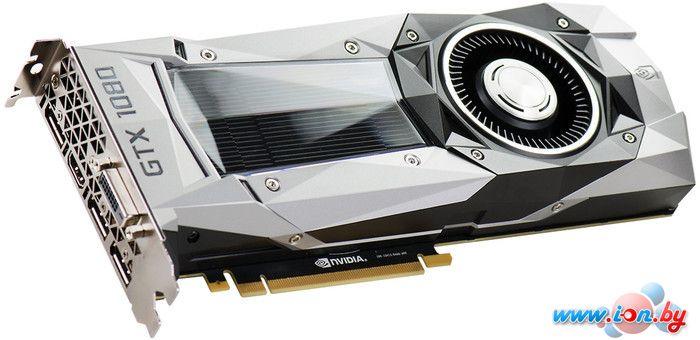Видеокарта EVGA GeForce GTX 1080 FOUNDERS EDITION 8GB GDDR5X [08G-P4-6180-KR] в Могилёве