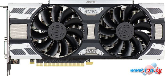 Видеокарта EVGA GeForce GTX 1070 SC Gaming ACX 8GB GDDR5 [08G-P4-6173-KR] в Могилёве