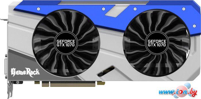 Видеокарта Palit GeForce GTX 1070 GameRock8GB GDDR5 [NE51070T15P2-1041G] в Могилёве